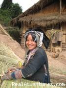 Aini people - Trekking in Xishuangbanna, Yunnan of south China
