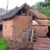 Trekking in Xishuangbanna, Yunnan of south China Aini peopel's house