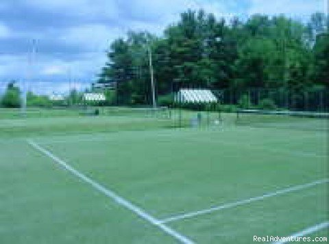 Grass tennis courts | Image #8/8 | Maine's Best Vacation Value Poland Spring Resort