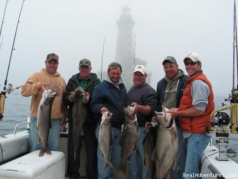 World Class Lake Trout Fishing at Stannard Rock Central, Michigan Fishing Trips