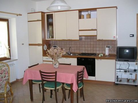 kitchen - Located on a panoramic site, upon the sunny hills