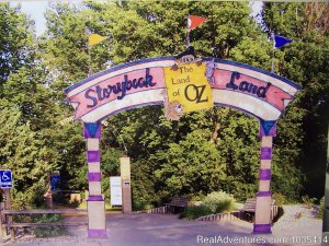 Wylie Park Campground & Storybook Land theme park Aberdeen, South Dakota Campgrounds & RV Parks