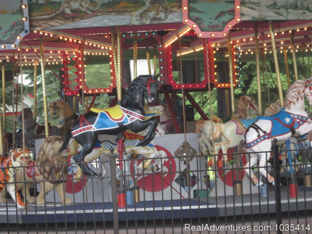 Take a ride on the Land of Oz Carousel | Image #7/11 | Wylie Park Campground & Storybook Land theme park
