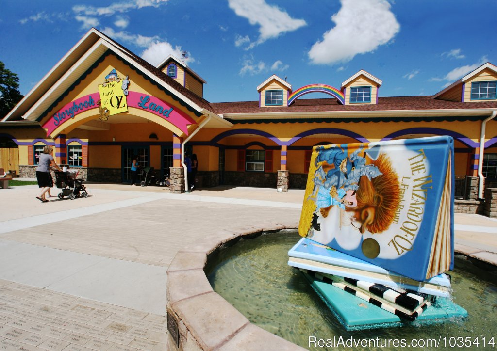 Storybook Land Visitor Center | Image #2/11 | Wylie Park Campground & Storybook Land theme park