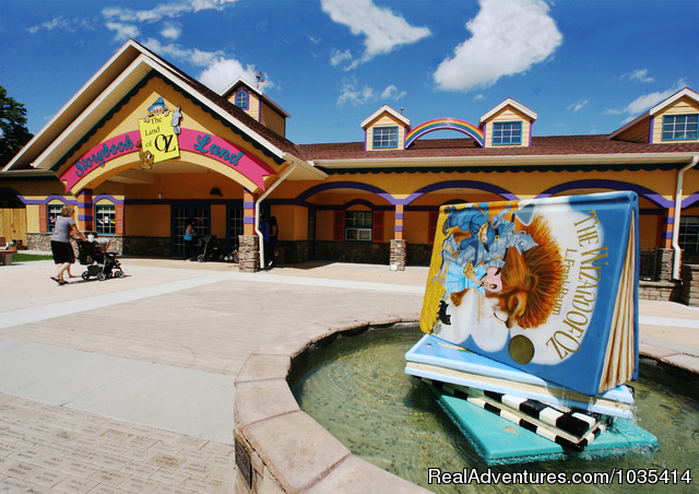 Storybook Land Visitor Center - Wylie Park Campground & Storybook Land theme park
