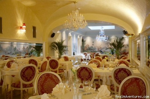 Aquarius Restaurant (#2 of 10) - Alchymist Grand Hotel and Spa *****