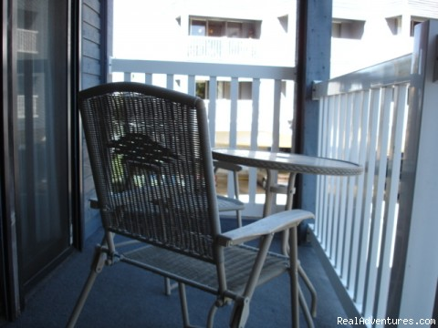 Very Nice Beach Front Condo in Corpus Christi: Balcony