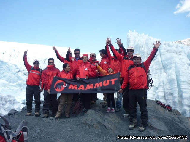 Peru Mountain Explorers team (#3 of 9) - Peruvian Adventure Expeditions Mountaineering 2014