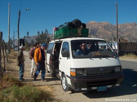 Leaving to Santa Cruz Trekking - Cordillera Blanca Climbing, Trekking,  Huaraz Peru