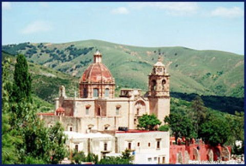 Templo San Cayetano - Hillside Luxury Overlooking Guanajuato City