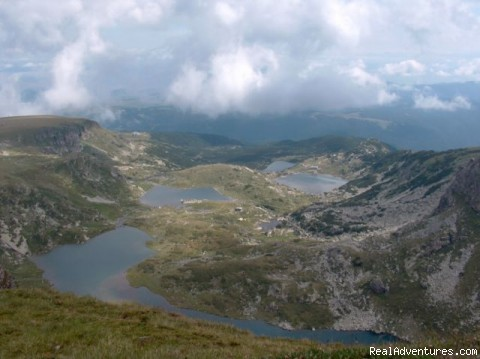 Hiking in Bulgaria Rila Lakes
