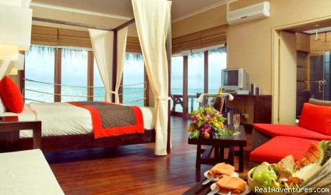 Maldives Luxury  Resort By Sea N sun maldives Luxury  Water Accomodations