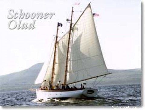 Day Sailing & Custom Charters on the Schooner Olad Camden, Maine Sailing & Yacht Charters