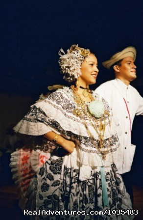 Folkloric Dinner Dance Show (Optional) - Panama with Canal Transit