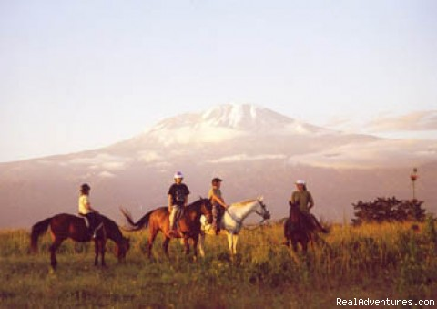 Horseback adventures on the Slopes of Kilimanjaro