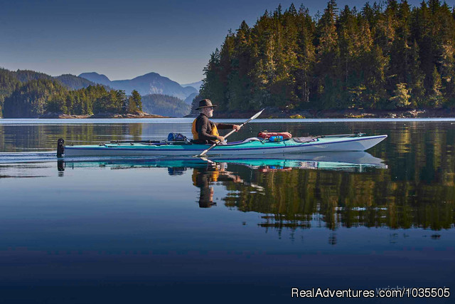 Silence in Paddling - Best Sea Kayaking Adventures on Vancouver Island