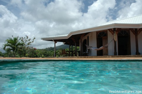 Parrot estate villa - Englishman's bay,Parrot estate. Romantic adventure