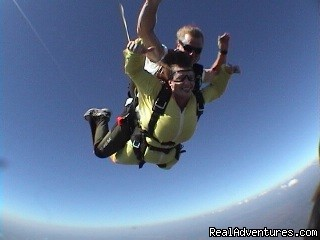 Tandem Freefall - The rush - Skydive Southwest Florida