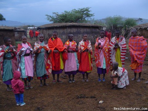 Masaai Women a Tribe in kenya