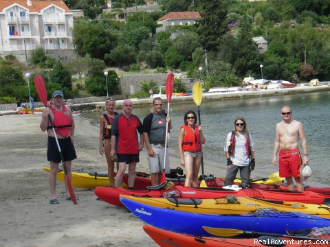 Let's get started! - Kayaking Dubrovnik archipelago - shore excursions