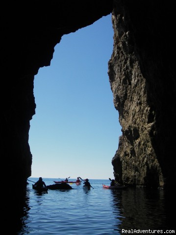 One of many forms of Ariatic Coast - Kayaking Dubrovnik archipelago - shore excursions