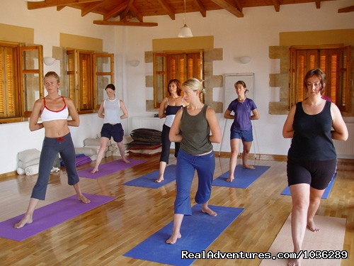 Yoga - Yoga, walking and holistic holidays in Greece.