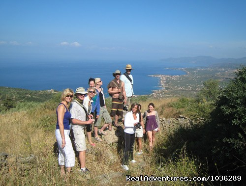 Yoga, walking and holistic holidays in Greece.