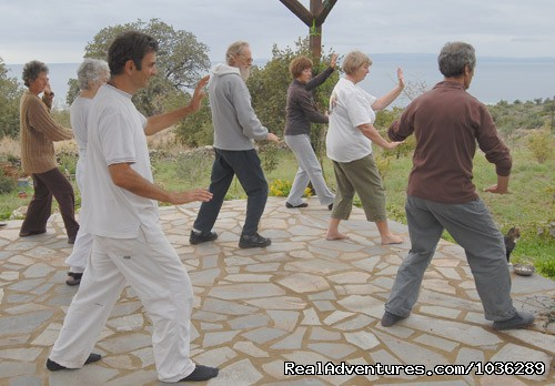 Tai Chi - Yoga, walking and holistic holidays in Greece.