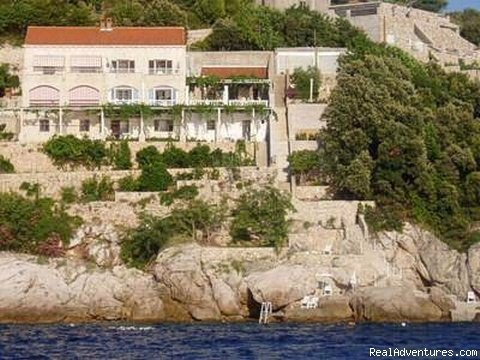 Enjoy the beautiful quiet nature, crystal clear sea, private beach and stay close to Dubrovnik, in apartments for 2-3 people, with separate entrances, terraces, private bathrooms, furnished to 3* standard, SAT/TV, air condition, sea view, parking