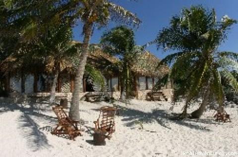 EcoTulum Resorts & Spa Mexico: Beach View of Kanab Cabanas at Zahra