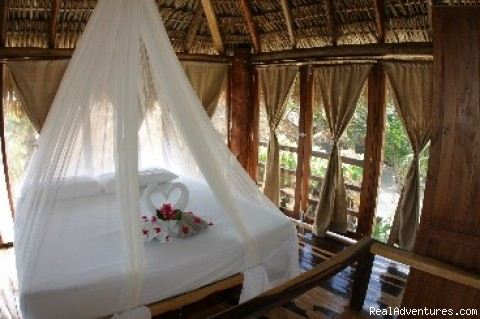 Family Suite King bed at Zahra - EcoTulum Resorts & Spa Mexico