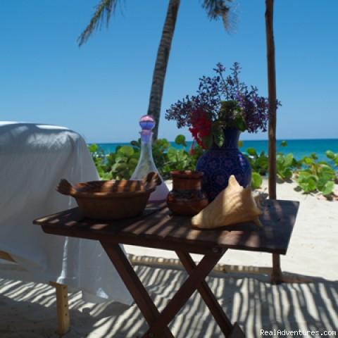 Massage by the Sea at Maya Spa - EcoTulum Resorts & Spa Mexico