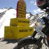 Enfield Motorcycle at Khardung-la Pass