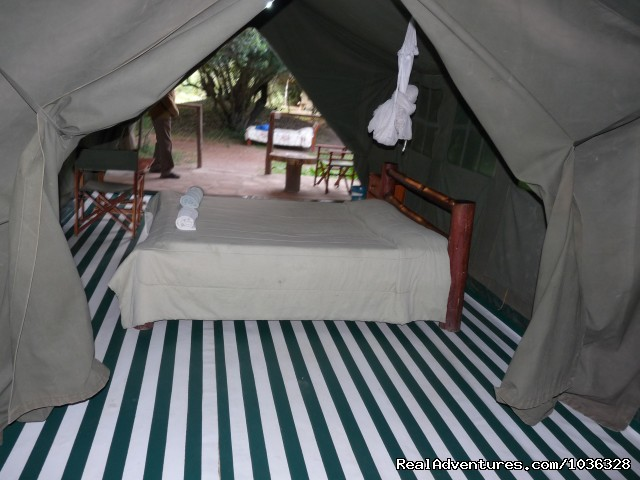 Tented Camp in Masai Mara - African Home Adventure Safaris