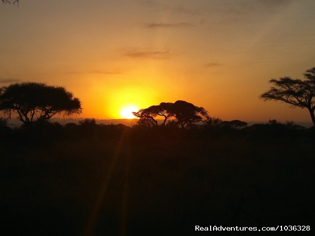Sunset - African Home Adventure Safaris