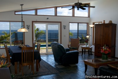 Panoramic views from every room - Hale Mar: Luxury Oceanfront Home w Pool & Hot Tub