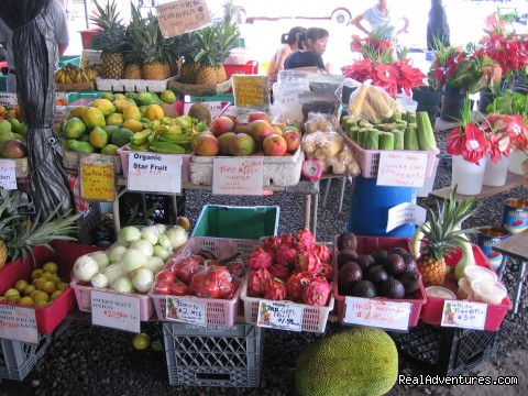 Exotic fruits and vegetables at local markets - Hale Mar: Luxury Oceanfront Home w Pool & Hot Tub