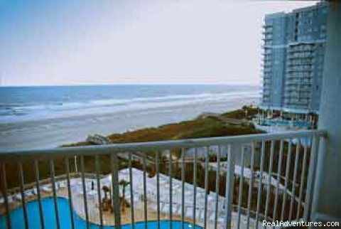 Myrtle Beach SC Hotels, Resorts, and Condos Room with a View