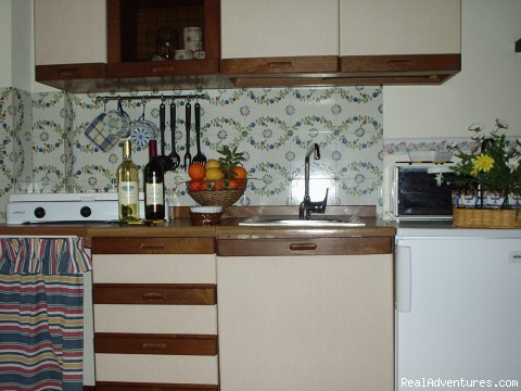 Kitchen Area - ELEGANT and LOW-COST APARTMENTS IN PALERMO CENTRE