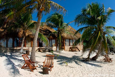 Zahra Seaside Cabanas - Ecotulum Resorts & Spa -