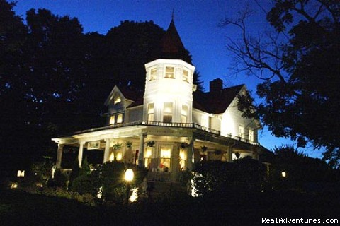 Romantic and Inviting at Night - Romantic Getaways Year-Round at Elegant Inn