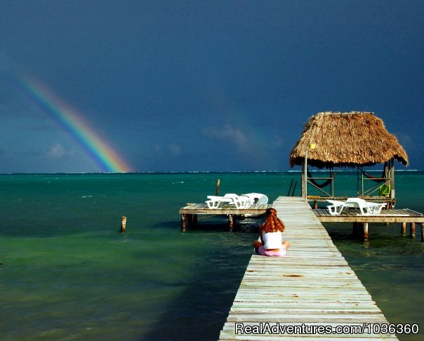 - Casual beachfront comfort on Caye Caulker