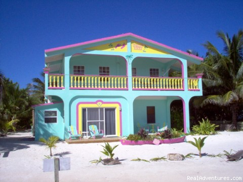 Casual comfort on the best beach on Caye Caulker
