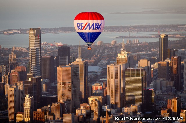 Melbourne By Balloon - Hot air ballooning over Melbourne