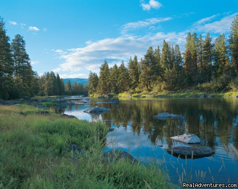 The Blackfoot River - The Resort at Paws Up