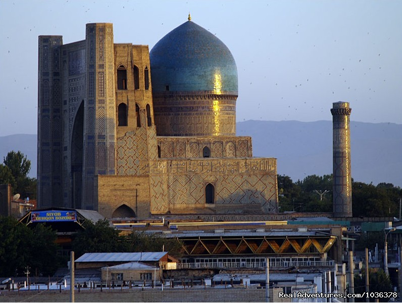 Bibi-Khanym Mosque | Image #1/6 | Samarkand, Uzbekistan | Sight-Seeing Tours | Great Silk Road Tours