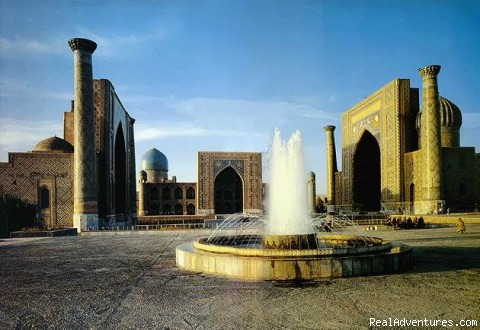 Reguistan sq. Samarkand - Great Silk Road Tours