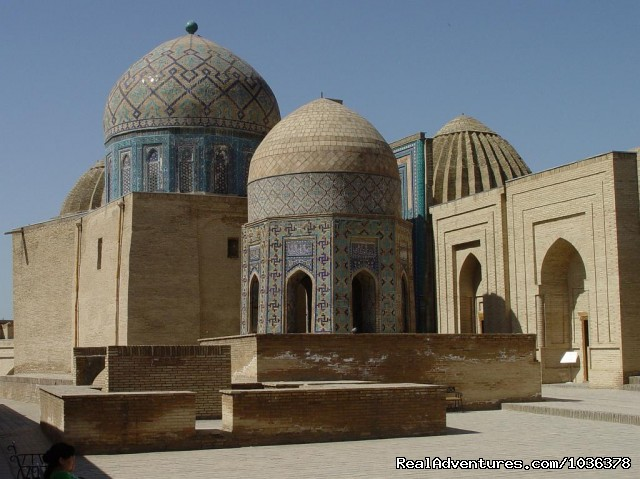 Shahi Zinda Necropolis - Great Silk Road Tours