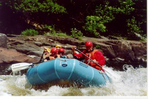 W3 White Water Rafting in Quebec
