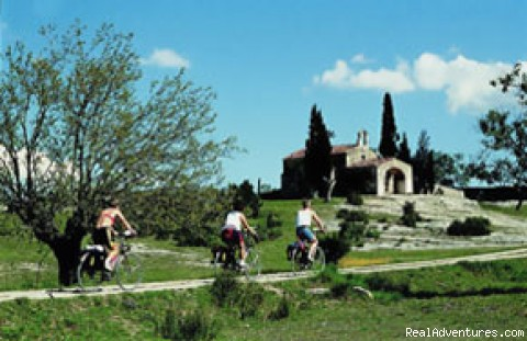 Bicycling in Provence - Bike Tours in France: Loire, Provence, Burgundy